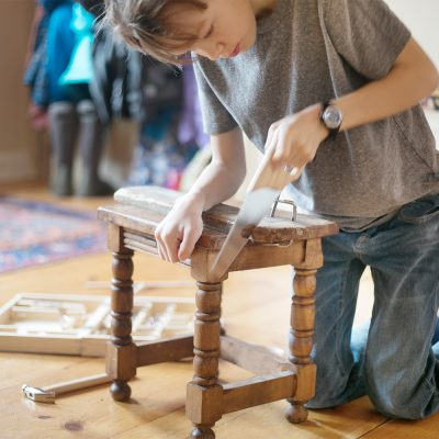 Working with Wood and Children